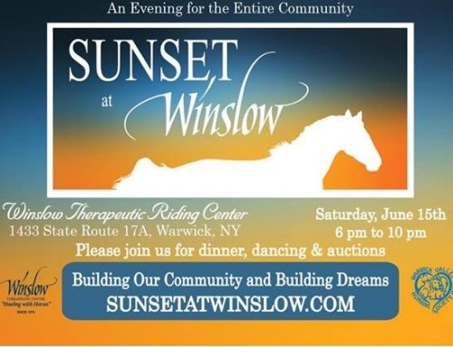 Save the Date: Sunset at Winslow June 15th, 2019