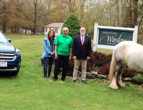 Brand new all-wheel drive Ford Escape SE hole-in-one prize at Winslow Healing with Horses golf outing