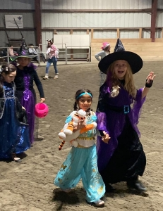 Jasmine and the Witch!